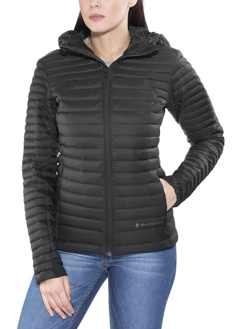 Black Diamond Forge Hoody Jacket Women Black